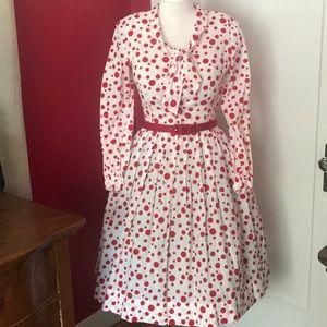 1950s true vintage day dress